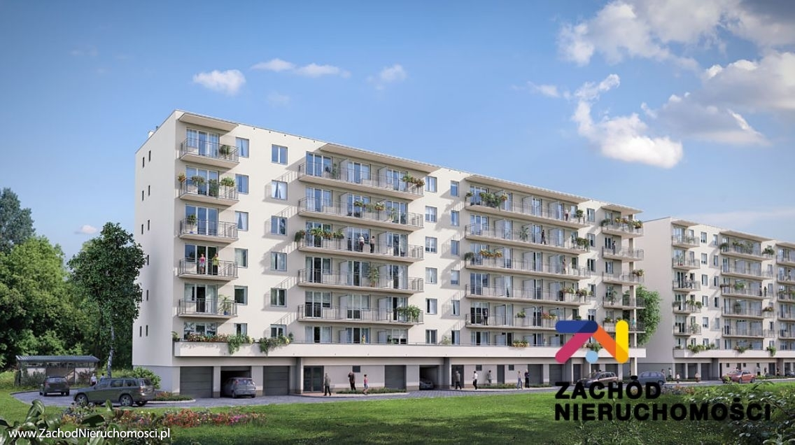 Nieruchomości Nowa Sól - Nowe mieszkanie, 2 pokoje, 2 piętro, 45,43m2